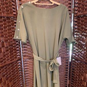 Nordstrom Olive Dress